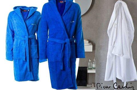 Pierre Cardin unisex fürdőköntösök kék színben