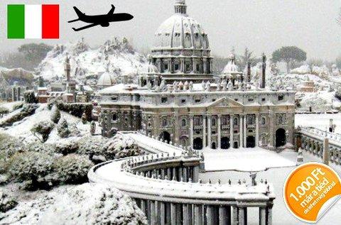 4 napos téli kiruccanás Rómába repülővel