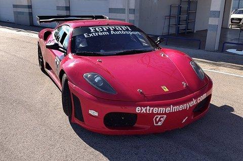 3 körös élményvezetés Ferrari 360 Replica-val