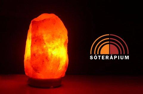 USB-s Himalája sókristály lámpa