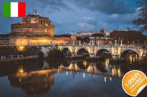 4 napos páros romantika Rómában