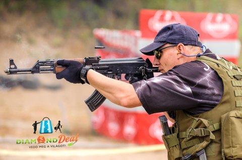 60 lövés 3 nagy kaliberű fegyverrel Ráckevén