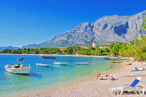 6 napos tengerparti vakáció Makarska-ban