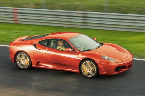 Ferrari F430 F1 sportautó vezetés Kiskunlacházán