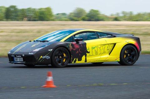 6 körös élményvezetés Lamborghini Gallardo-val