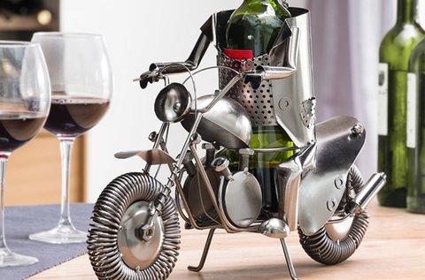 Homania biciklis fém borállvány