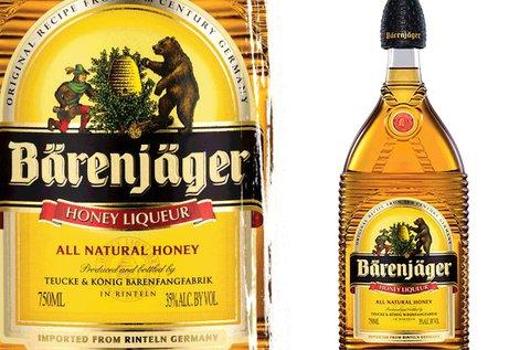 0,7 l-es Barenjager mézlikőr  35% alkohol tartalommal