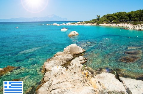 8 napos görögországi nyaralás Sartin