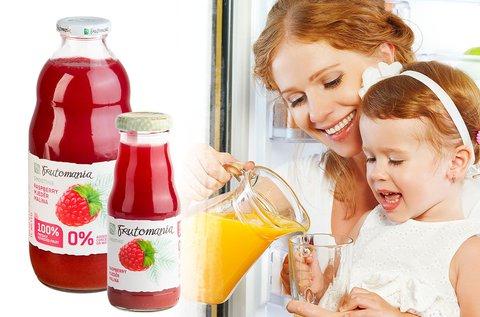 Frutomania 100% gyümölcstartalmú ivólevek