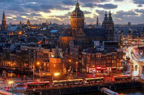 Tavaszi hosszú hétvége Amszterdamban