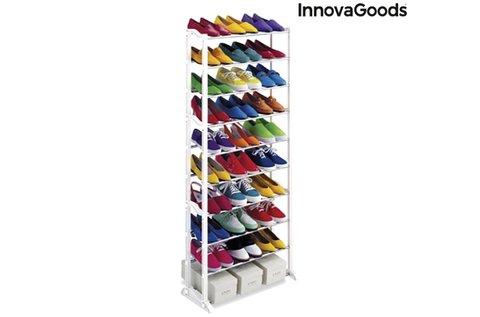 InnovaGoods cipős szekrény 10 db polccal
