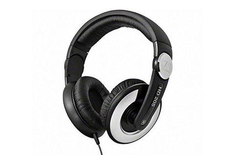 Sennheiser HD 205 fekete fejhallgató