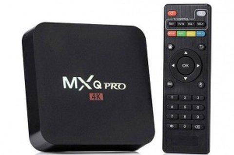MXQ Pro 4K tv box HDMI kábellel