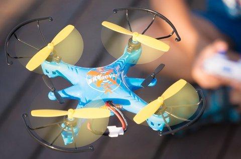 Mini Hero drón 4 propellerrel