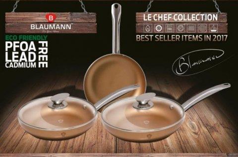5 részes Blaumann Le Chef Line serpenyő szett