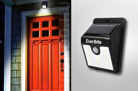 EverBrite napelemes LED lámpa mozgásérzékelővel