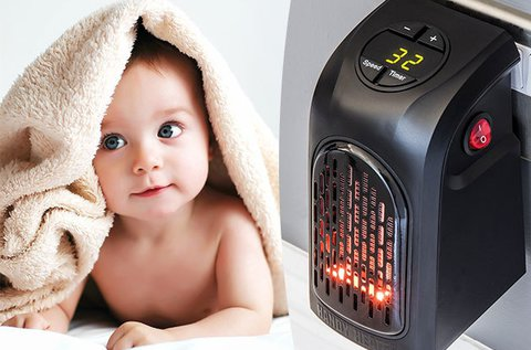 Handy Heater hősugárzó kábel nélkül