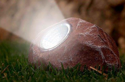 Napelemes dekorkő ki- és bekapcsoló gombbal