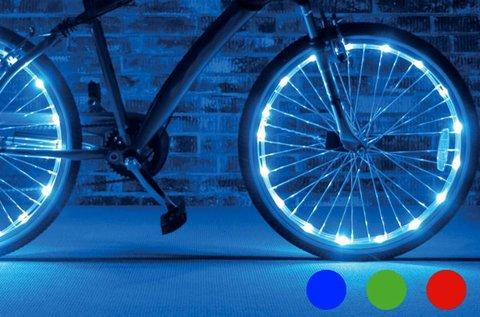 BW 2 db LED fénykábel kerékpárra