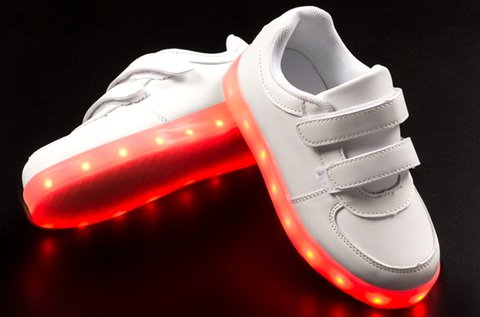 GlowFlow Kids LED-es gyerek sportcipő