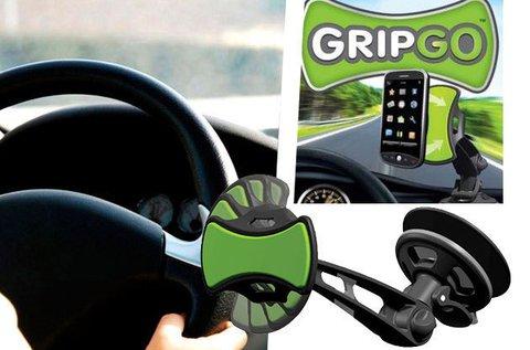 GripGo univerzális autós telefon- és GPS tartó