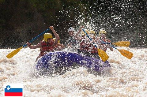Rafting hétvége Szlovénia legszebb vidékén