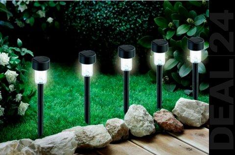 10 db napelemes kerti lámpa szuper fényes led-del