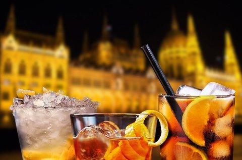 1 órás sétahajózás a Dunán 1 pohár üdvözlő itallal
