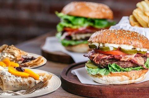 Extra Etalon Burger-tál marhahússal 2 fő részére