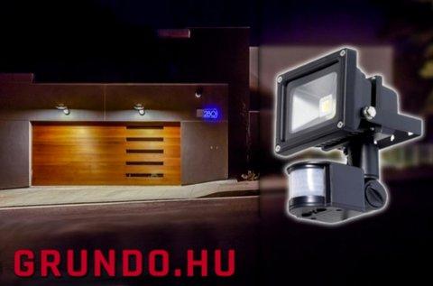 50 W-os LED reflektor mozgásérzékelővel