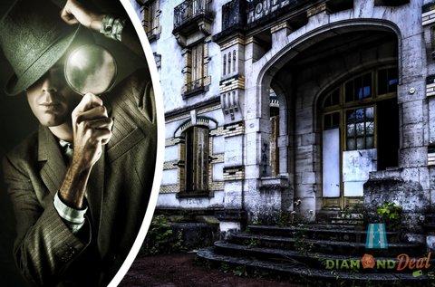 Rejtélyek Városa élő krimi társasjáték 2 fő részére