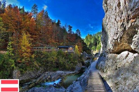 Ötscher-Tormauer Nemzeti Park látogatás busszal