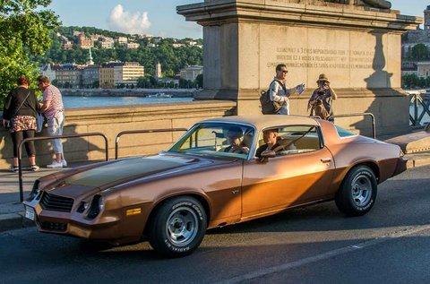 Élményvezetés egy 1979-es Chevrolet Camaro-val