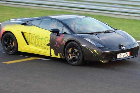 Vezess a Hungaroringen egy Lamborghinit!