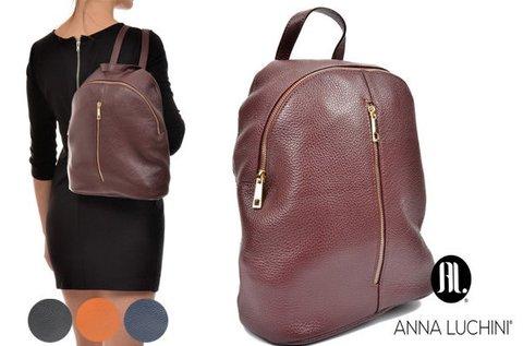 Anna Luchini Decor női bőr hátitáska 4 színben