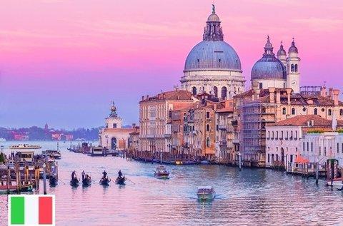 Buszos utazás a lagúnák városába, Velencébe