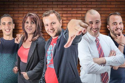 Stand Up Comedy előadás cseh sörrel és vacsorával