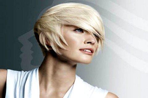 Melegollós hajvágás mosással és szárítással