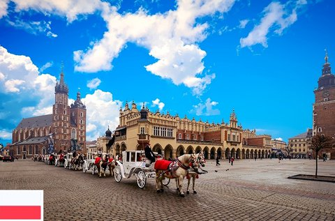 4 napos buszos utazás Lengyelországban