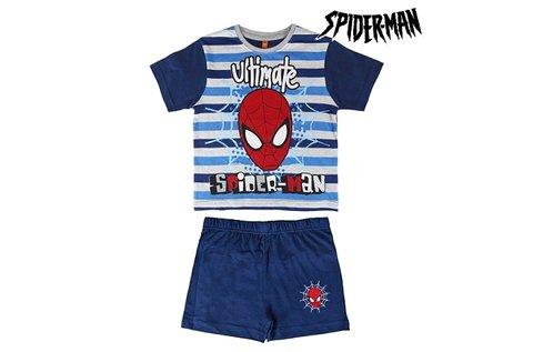 Spiderman mintás nyári pizsama 3-7 éves fiúknak