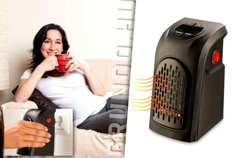 Hordozható hősugárzó digitális termosztáttal