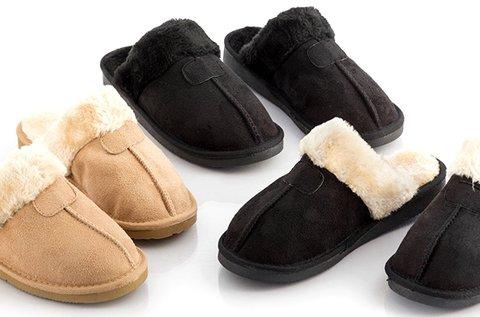 Relax Fur pihentető szőrmepapucs 3 színben