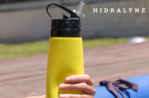 550 ml-es Hidralyne szilikon kulacs sportolóknak