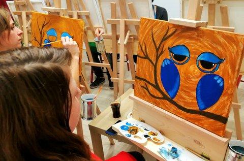 3 órás élményfestészet 1 főnek eszköz használattal