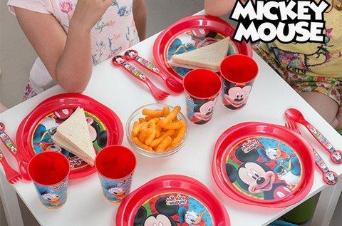 16 db-os Mickey Egér gyermek étkészlet