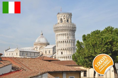 Pihenjetek a legrégebbi olasz városban, Pisában!