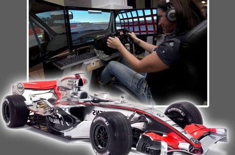 1 órás autóverseny szimulátor használat 2 főnek