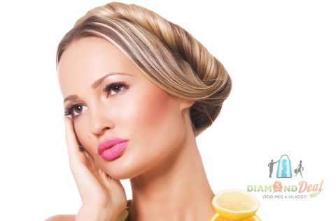Melír vagy tőfestés egészségügyi hajvágással