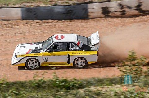 Audi S1 rally autó élményvezetés Nyirádon