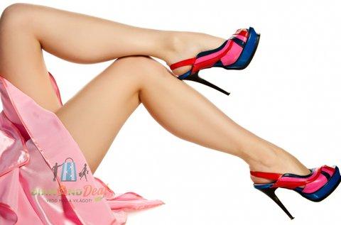 3 alkalmas SHR tartós lábszár szőrtelenítés